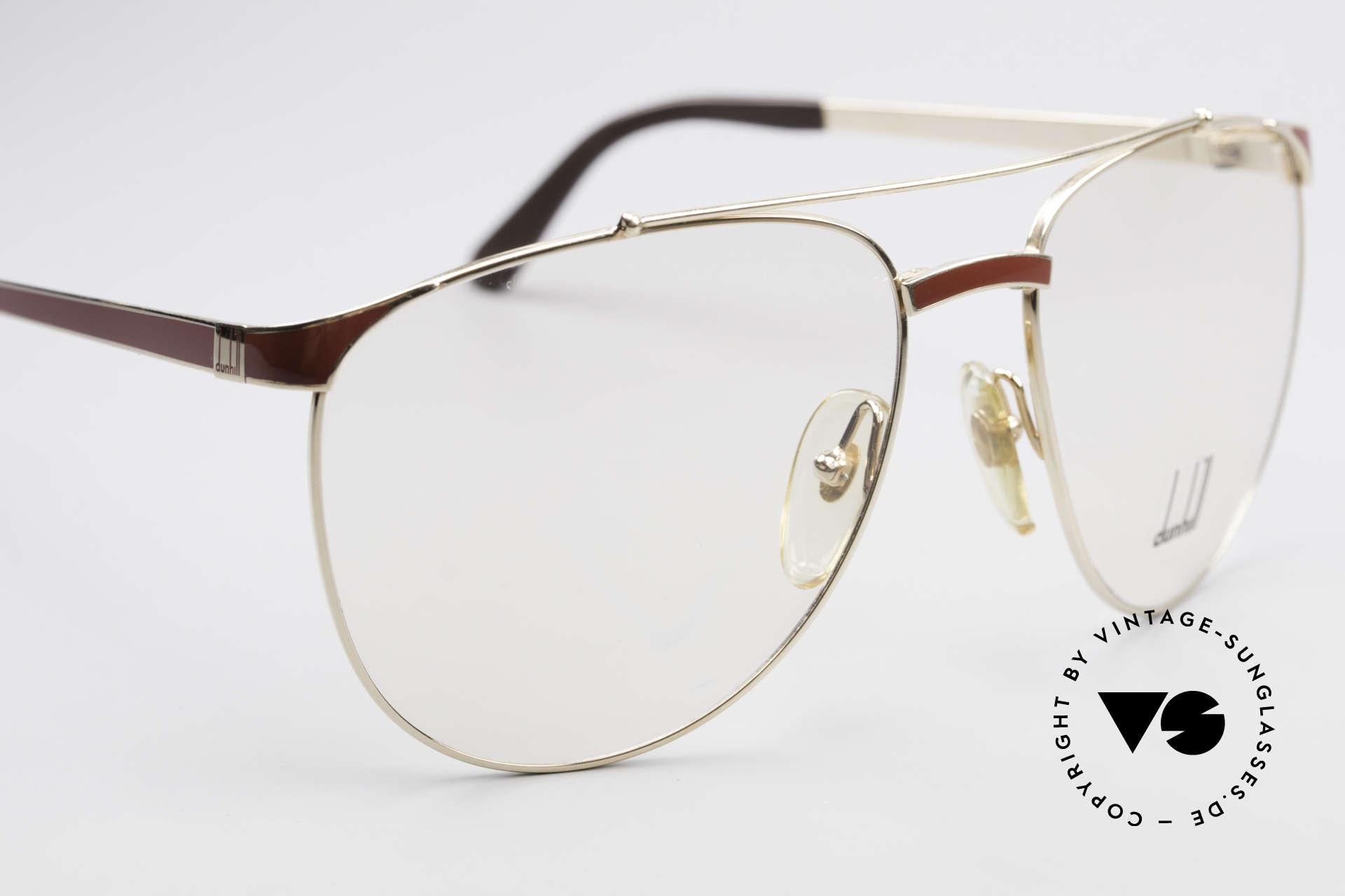 Dunhill 6034 Chinalack Luxus Brille 80er, ungetragen (wie alle unsere 80er Luxus-Brillen), Passend für Herren