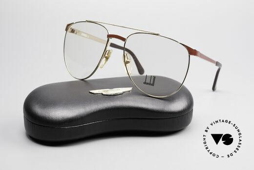 Dunhill 6034 Chinalack Luxus Brille 80er, KEIN Retro, ein kostbares 35 Jahre altes Original, Passend für Herren