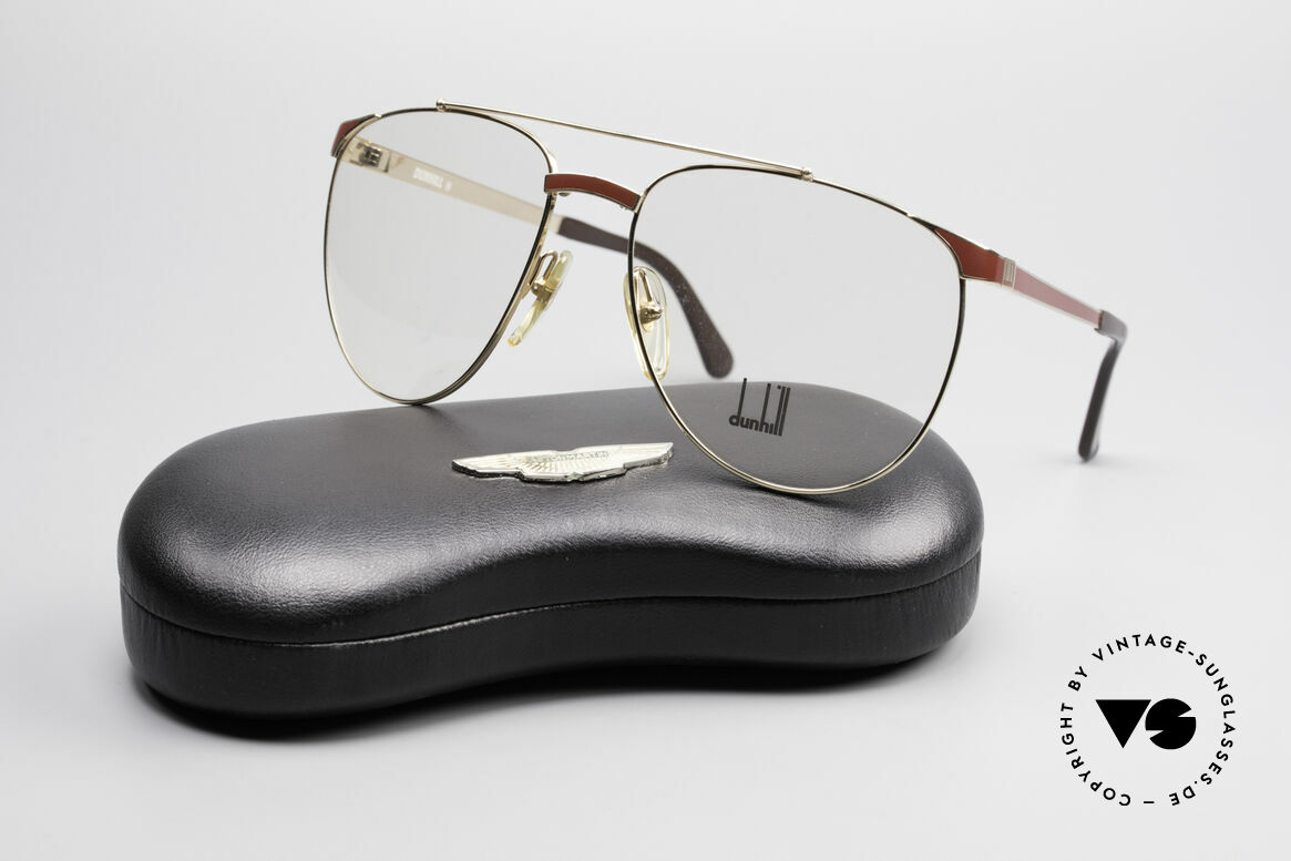 Dunhill 6034 Chinalack Luxus Brille 80er