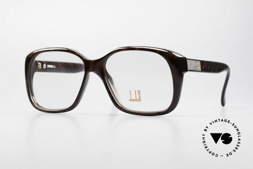 Dunhill 6013 Old School Goliath Brille 80er Details