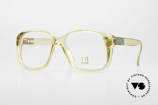 Dunhill 6013 80er Old School Goliath Brille Details