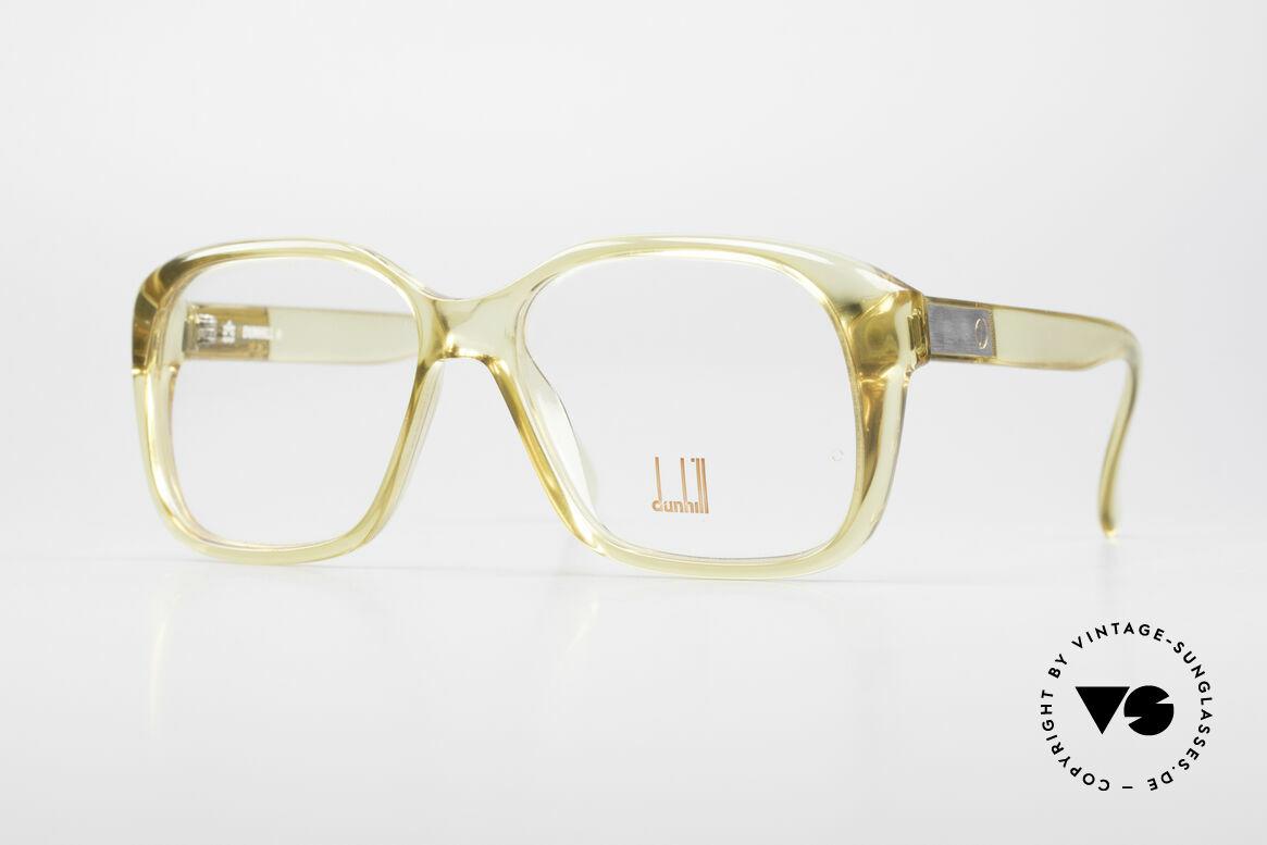 Dunhill 6013 80er Old School Goliath Brille, ausdrucksstarke vintage Dunhill Designer-Herrenbrille, Passend für Herren