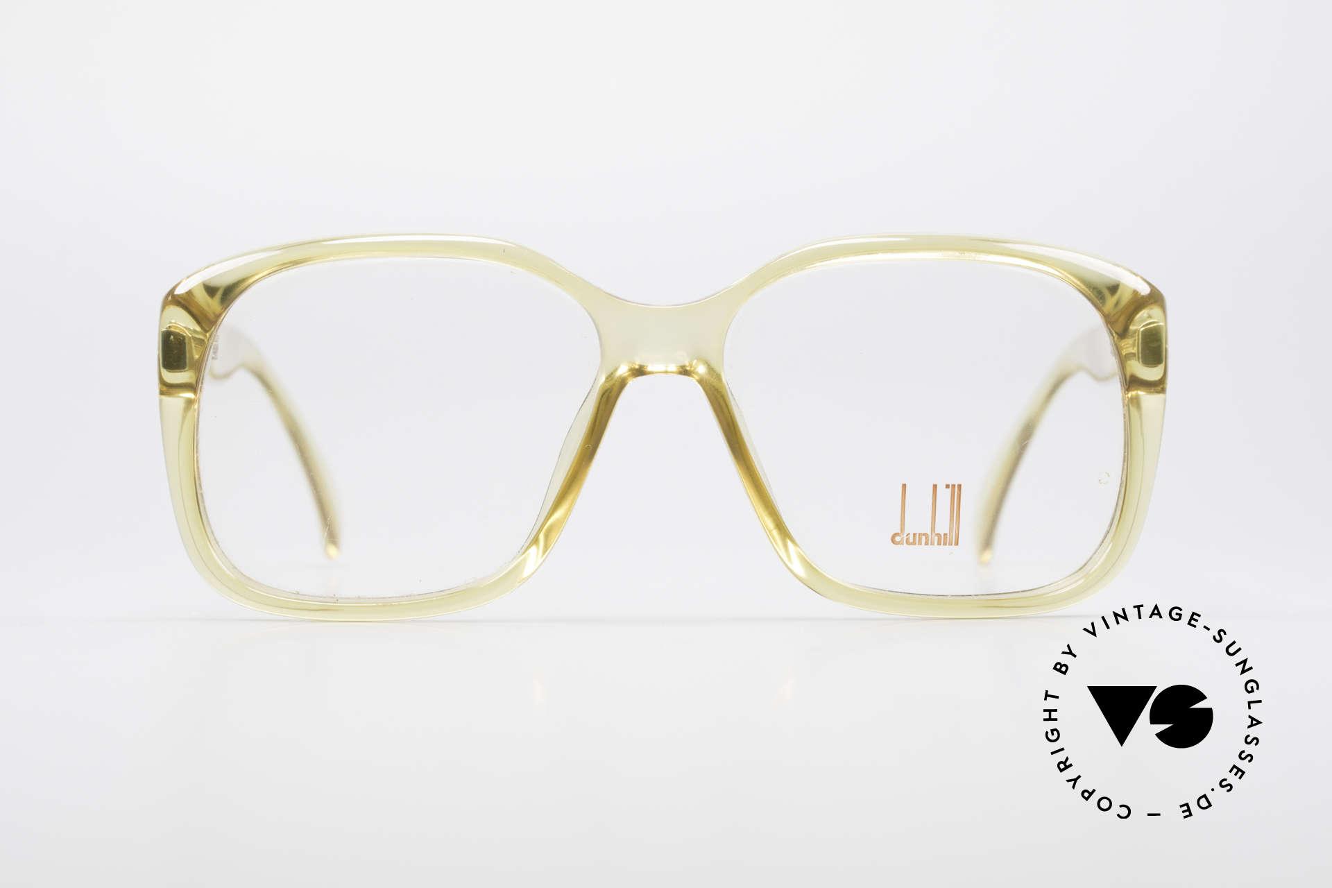 Dunhill 6013 80er Old School Goliath Brille, HipHop-Brille aus den 1980er Jahren; ein Sammlerstück, Passend für Herren