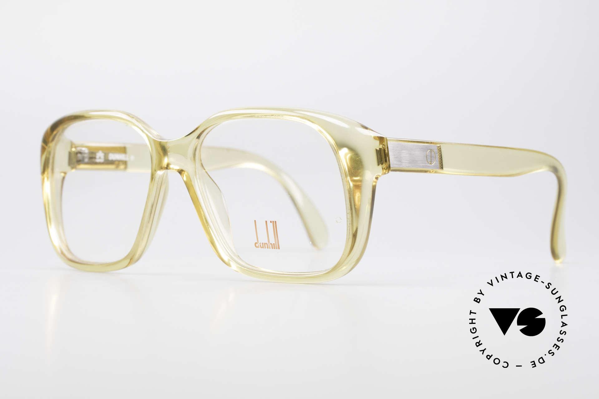 Dunhill 6013 80er Old School Goliath Brille, ähnlich der Ultra Goliath Brille; Robert de Niro (Casino), Passend für Herren
