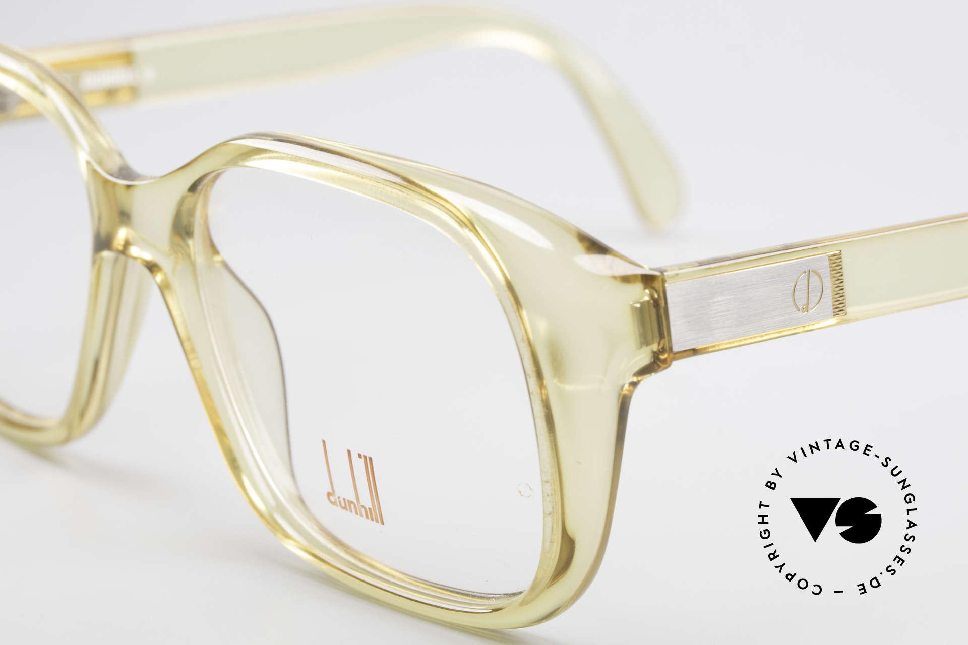 Dunhill 6013 80er Old School Goliath Brille, Top-Qualität und höhster Tragekomfort (Optyl-Material), Passend für Herren