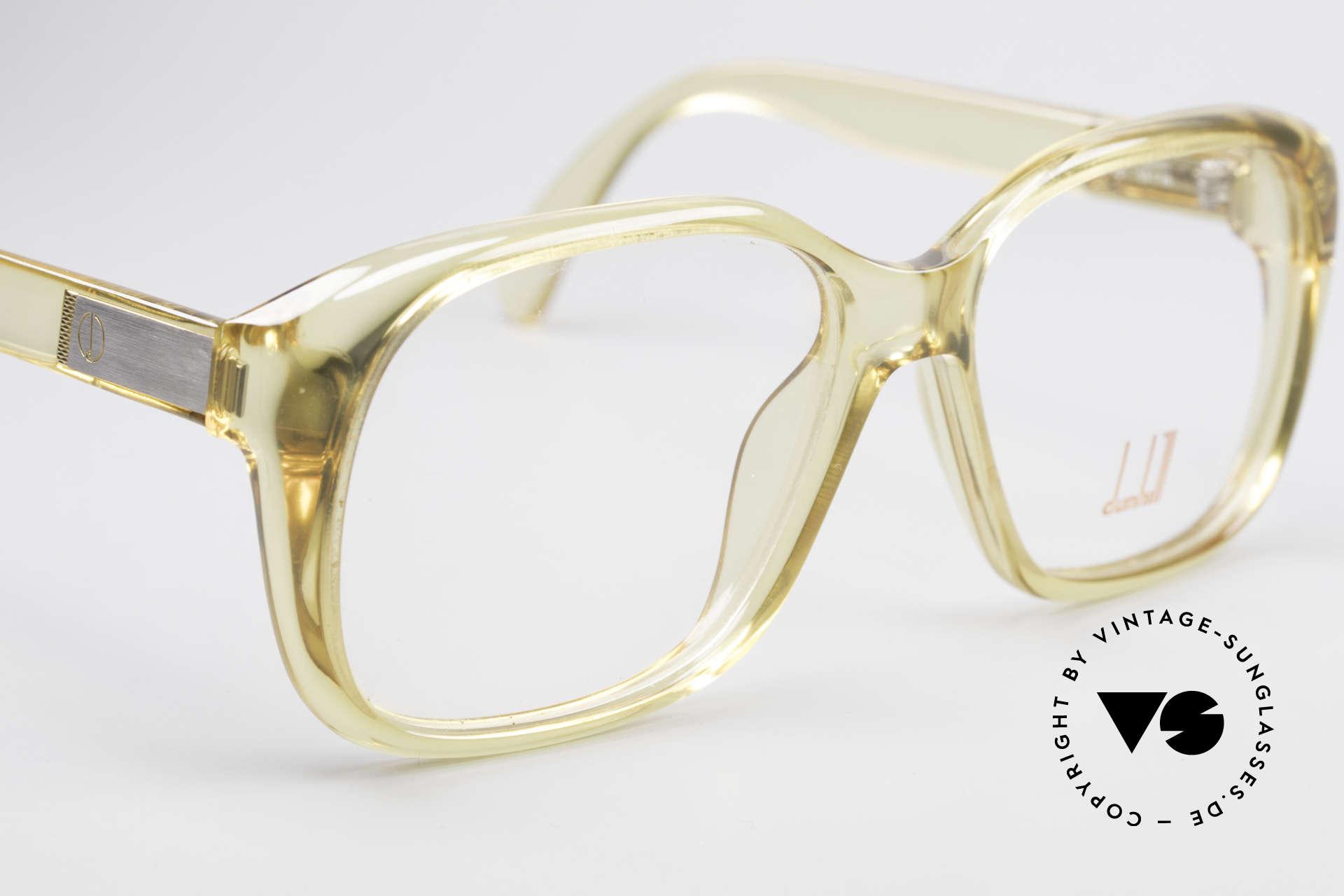 Dunhill 6013 80er Old School Goliath Brille, ungetragen (wie alle unsere VINTAGE Designer-Brillen), Passend für Herren