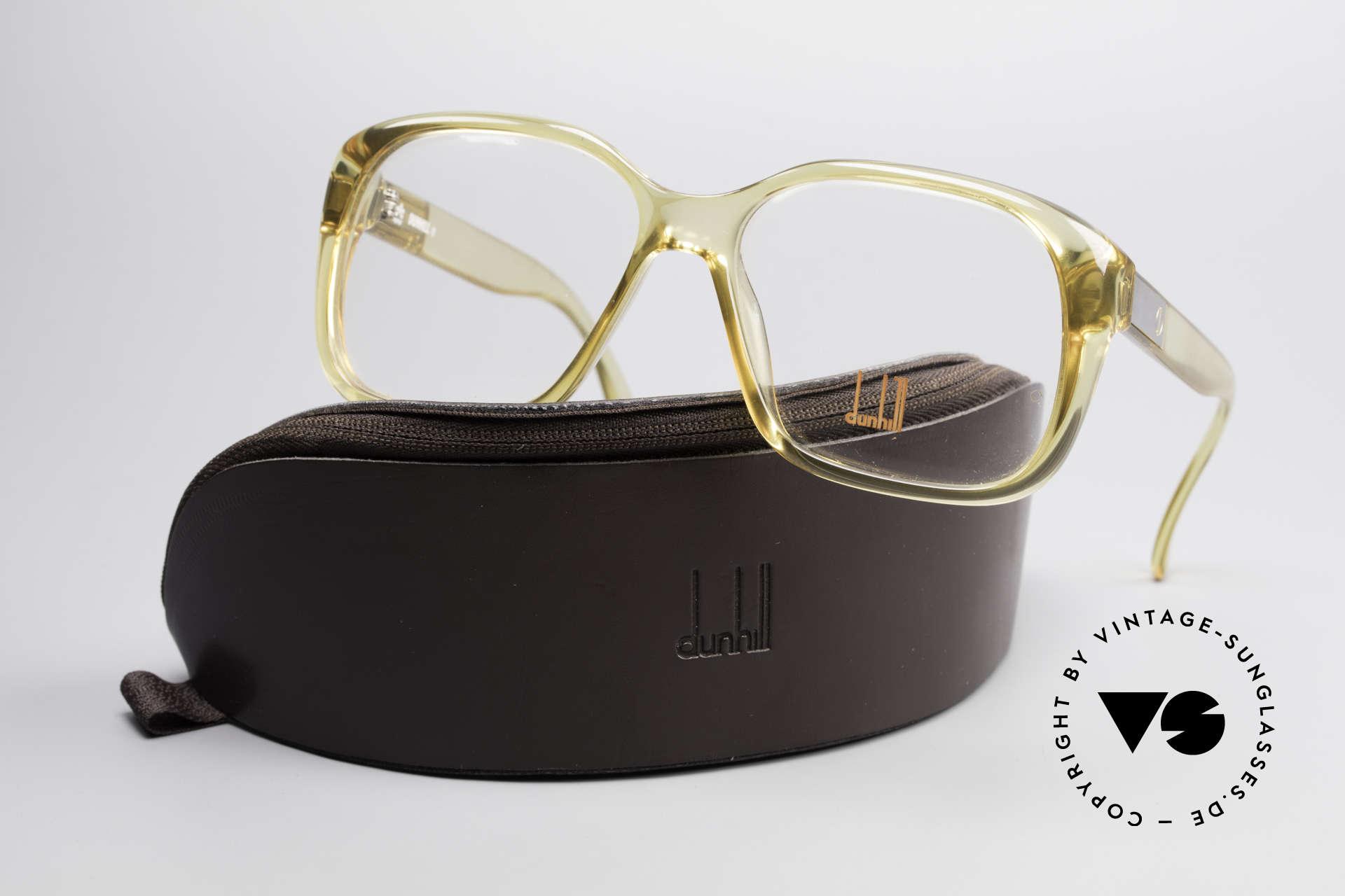 Dunhill 6013 80er Old School Goliath Brille, KEINE retro Brille; sondern ein altes Original von 1983, Passend für Herren
