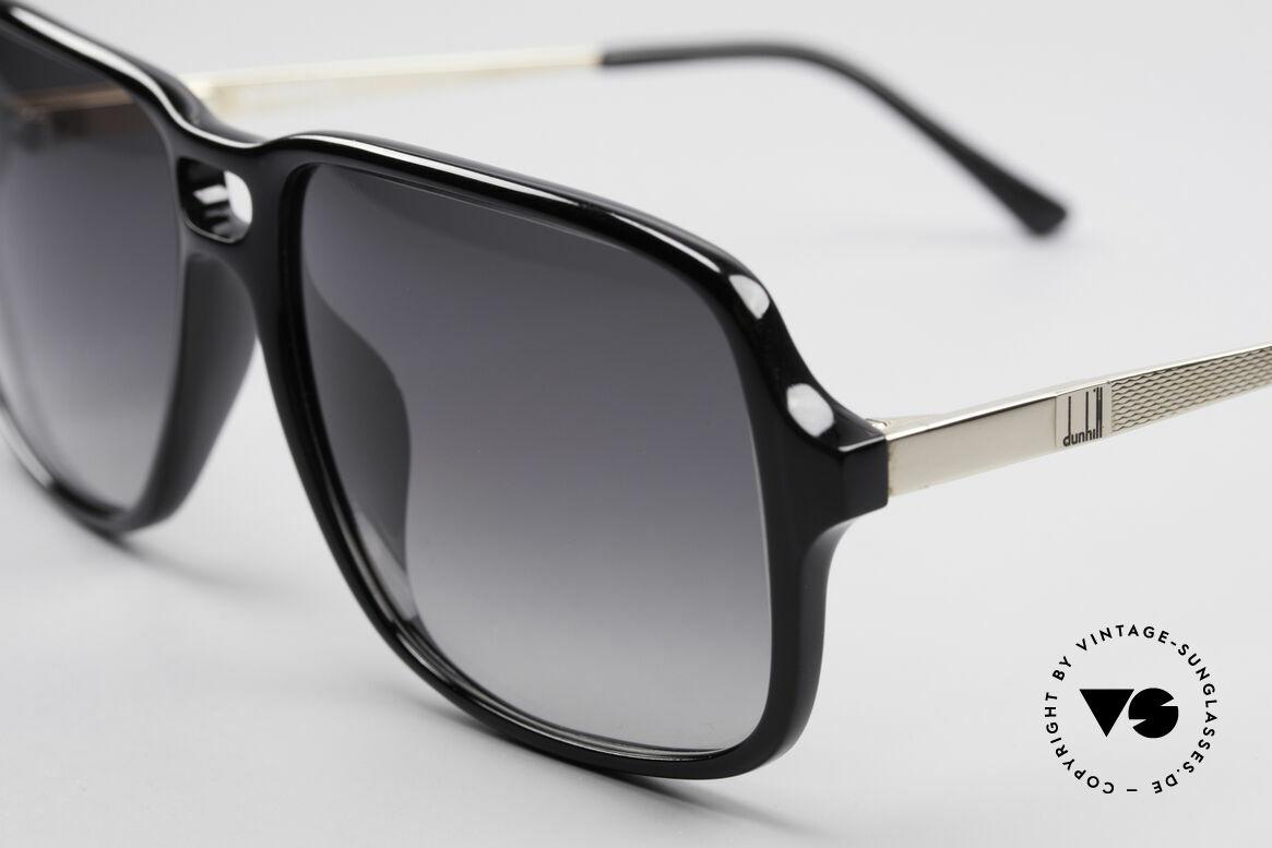 Dunhill 6074 Alte 80er Herren Sonnenbrille, typisch 80er .. mit Doppel-Steg und Federscharnieren, Passend für Herren