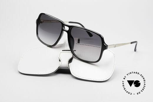 Dunhill 6074 Alte 80er Herren Sonnenbrille, KEINE RETRObrille; ein echtes altes 80er Jahre Unikat!, Passend für Herren