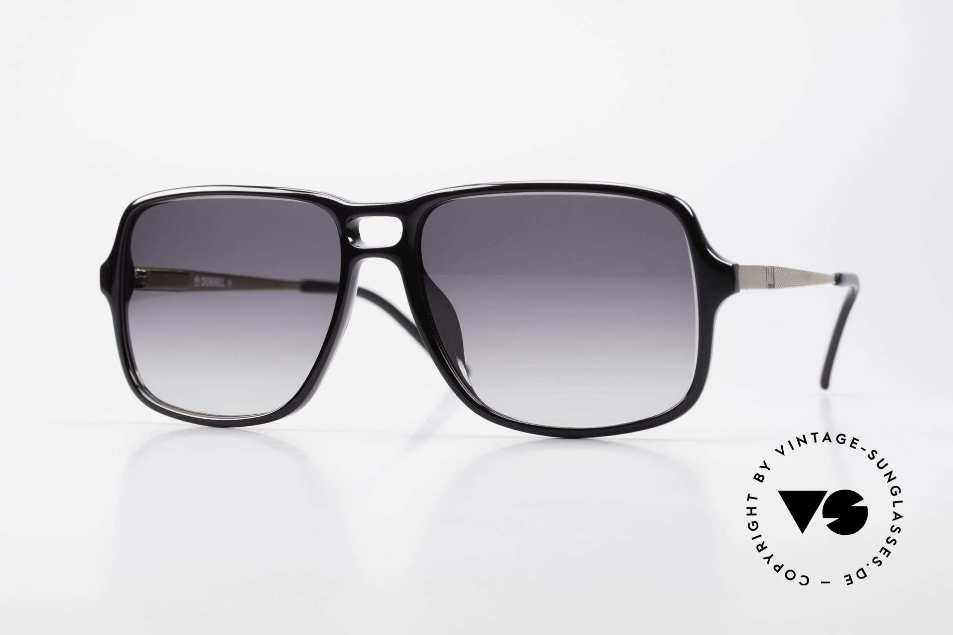 Dunhill 6074 Alte 80er Herren Sonnenbrille, enorm hochwertiges Optyl Gestell (made in Germany), Passend für Herren