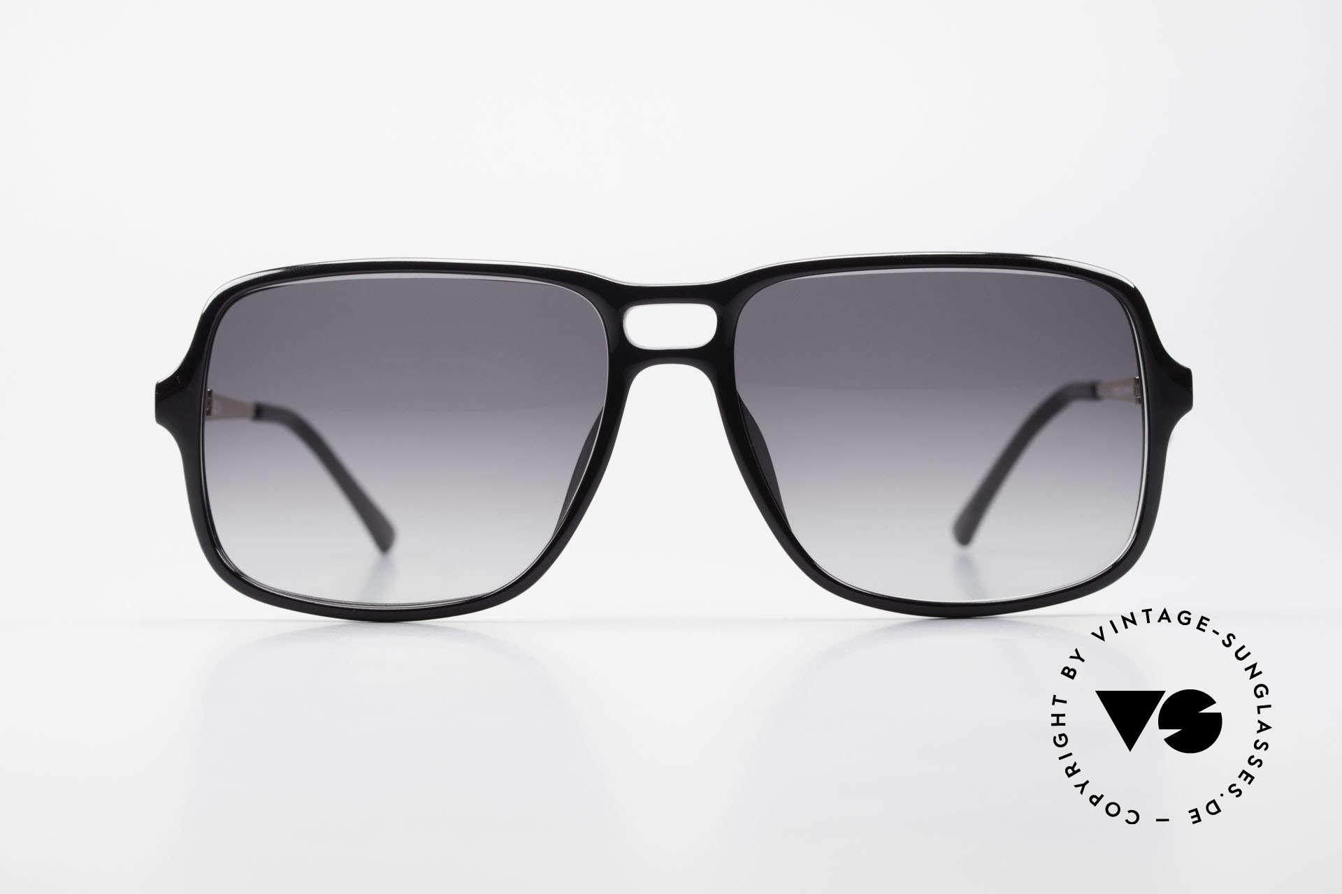 Dunhill 6074 Alte 80er Herren Sonnenbrille, sehr markante Dunhill vintage Sonnenbrille von 1989, Passend für Herren