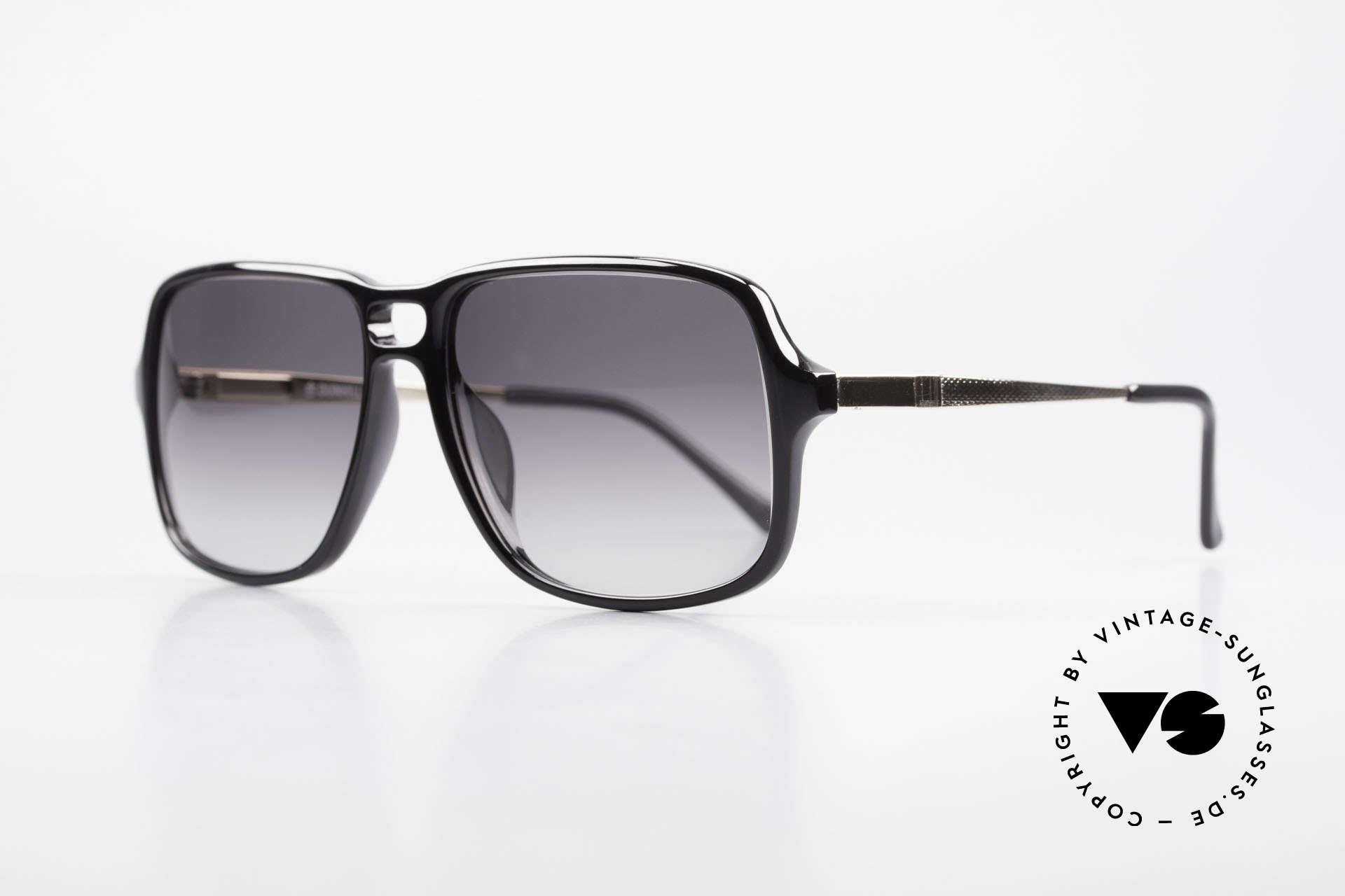 Dunhill 6074 Alte 80er Herren Sonnenbrille, fühlbare Top-Qualität & beste Passform (sehr robust), Passend für Herren