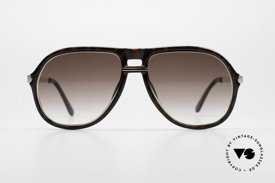 Dunhill 6085 Gentleman Aviator Brille 90er, 90er Jahre A. DUNHILL Gentleman Aviator-Sonnenbrille, Passend für Herren