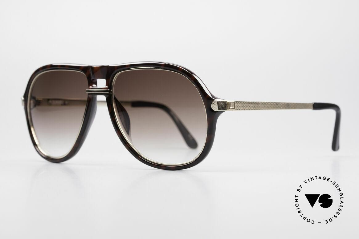 Dunhill 6085 Gentleman Aviator Brille 90er