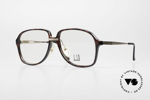 Dunhill 6053 80er Vintage Brille Herren Details