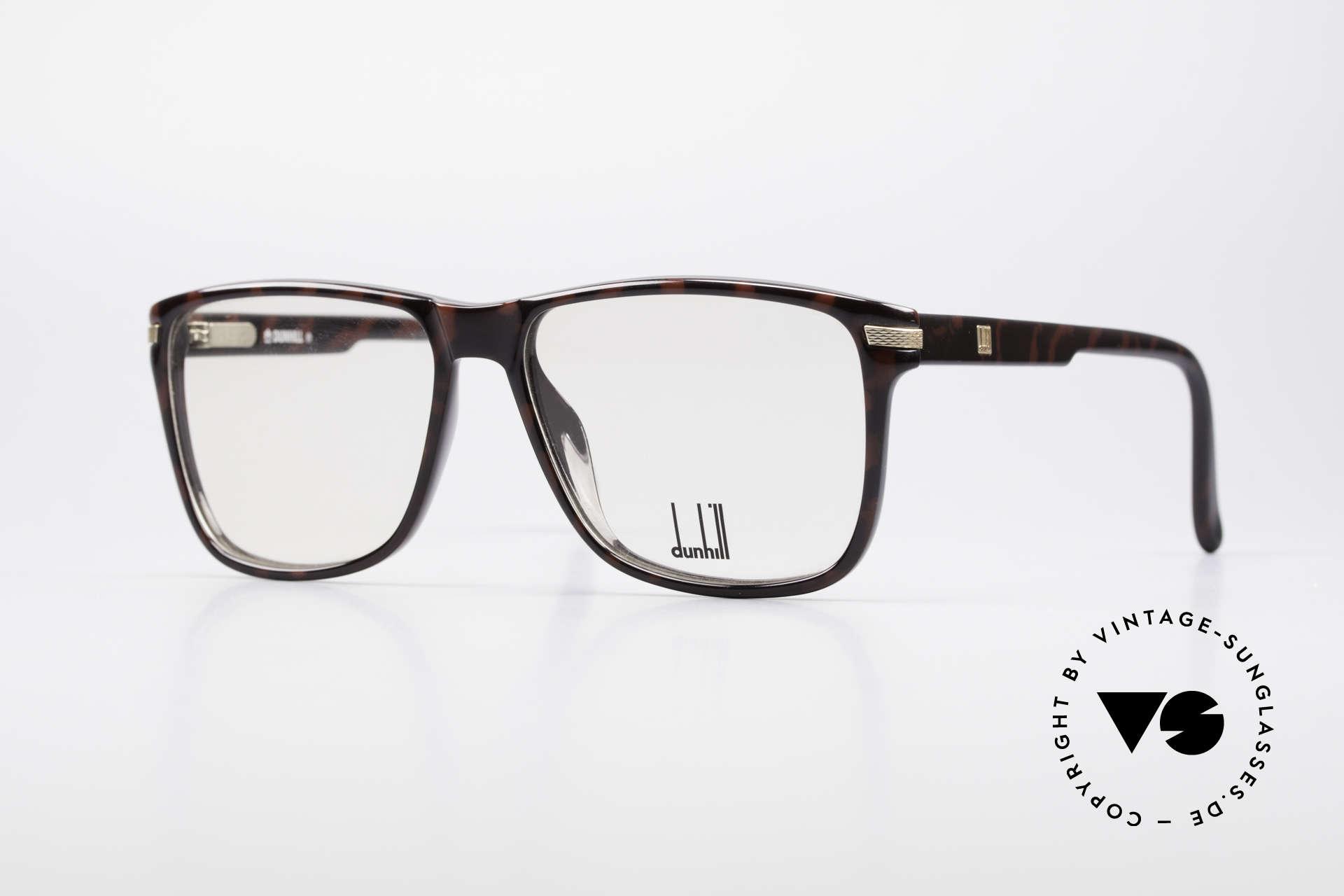 Dunhill 6055 Johnny Depp Nerd Stil Brille, elegante Alfred Dunhill Designer-Brille von 1988, Passend für Herren