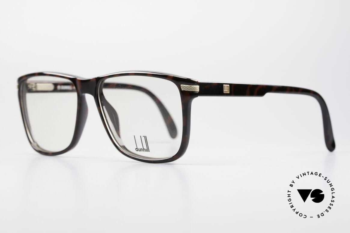 Dunhill 6055 Johnny Depp Nerd Stil Brille, herausragende Top-Qualität (Fassung aus OPTYL), Passend für Herren