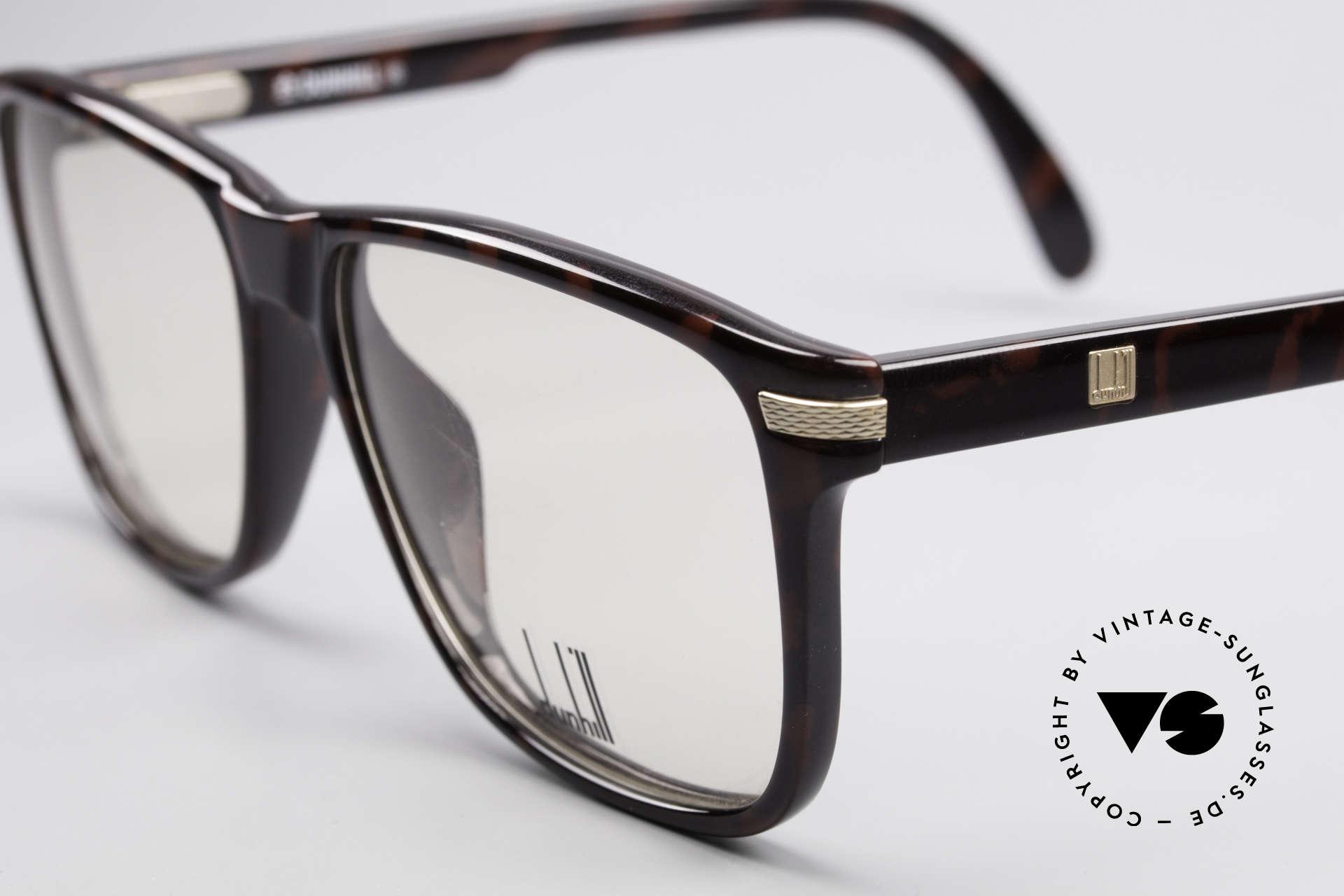 Dunhill 6055 Johnny Depp Nerd Stil Brille, ungetragen (wie alle unsere 80er Dunhill Brillen), Passend für Herren