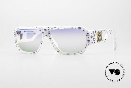 MCM München A2 80er Designer Sonnenbrille Details