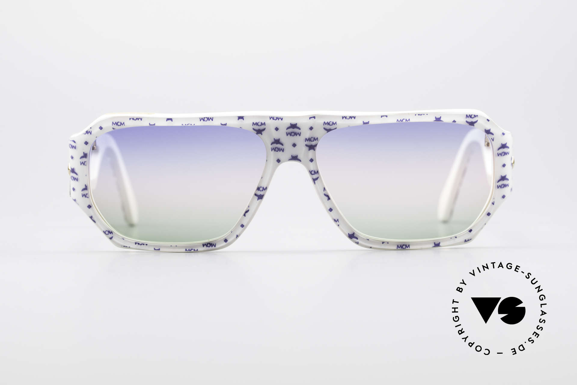 MCM München A2 80er Designer Sonnenbrille, teures MCM Design von Michael Cromer = M.C., Passend für Herren und Damen