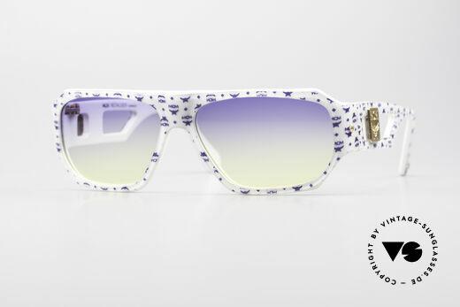 MCM München A2 Designer Sonnenbrille 80er Details