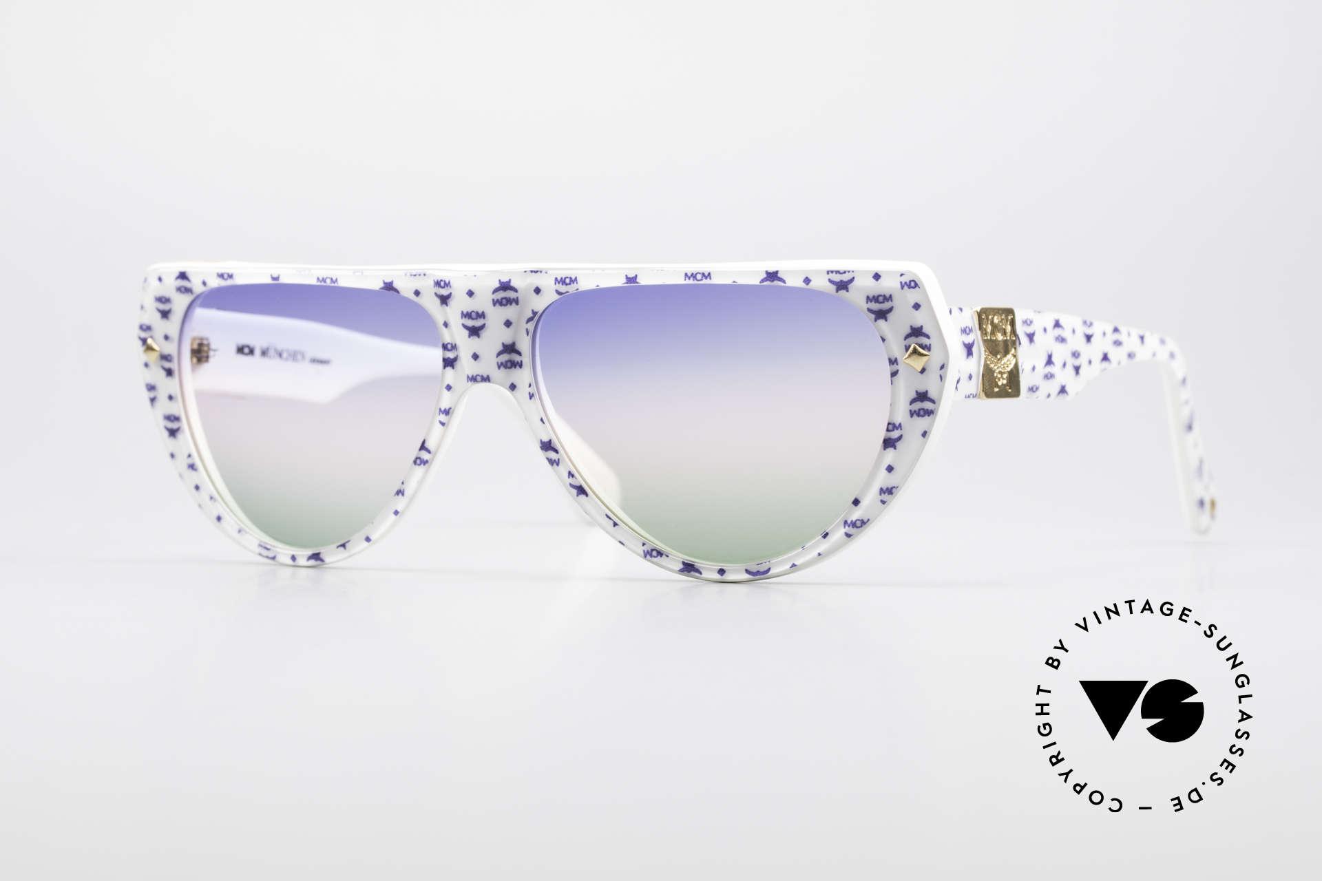 MCM München A1 Hip Hop Designer Sonnenbrille, original MCM Brille: Modern Creation München, Passend für Herren und Damen
