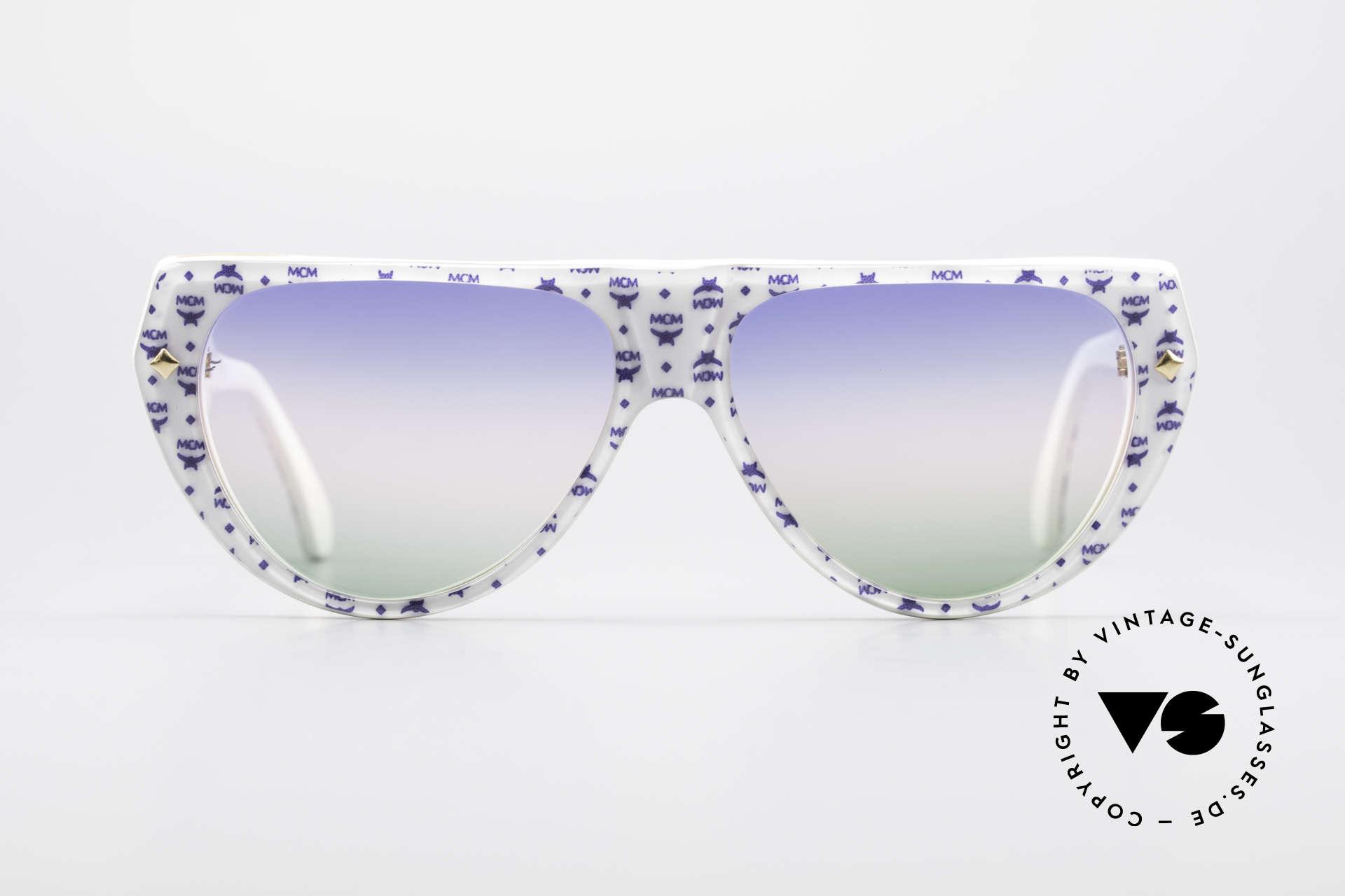 MCM München A1 Hip Hop Designer Sonnenbrille, teures MCM Design von Michael Cromer = M.C., Passend für Herren und Damen