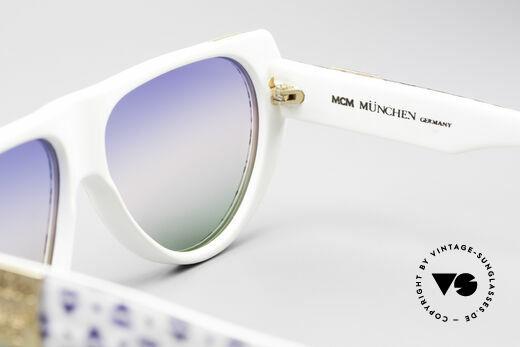 MCM München A1 Hip Hop Designer Sonnenbrille, KEIN RETRO, ein 80er Original mit Lacoste Etui, Passend für Herren und Damen