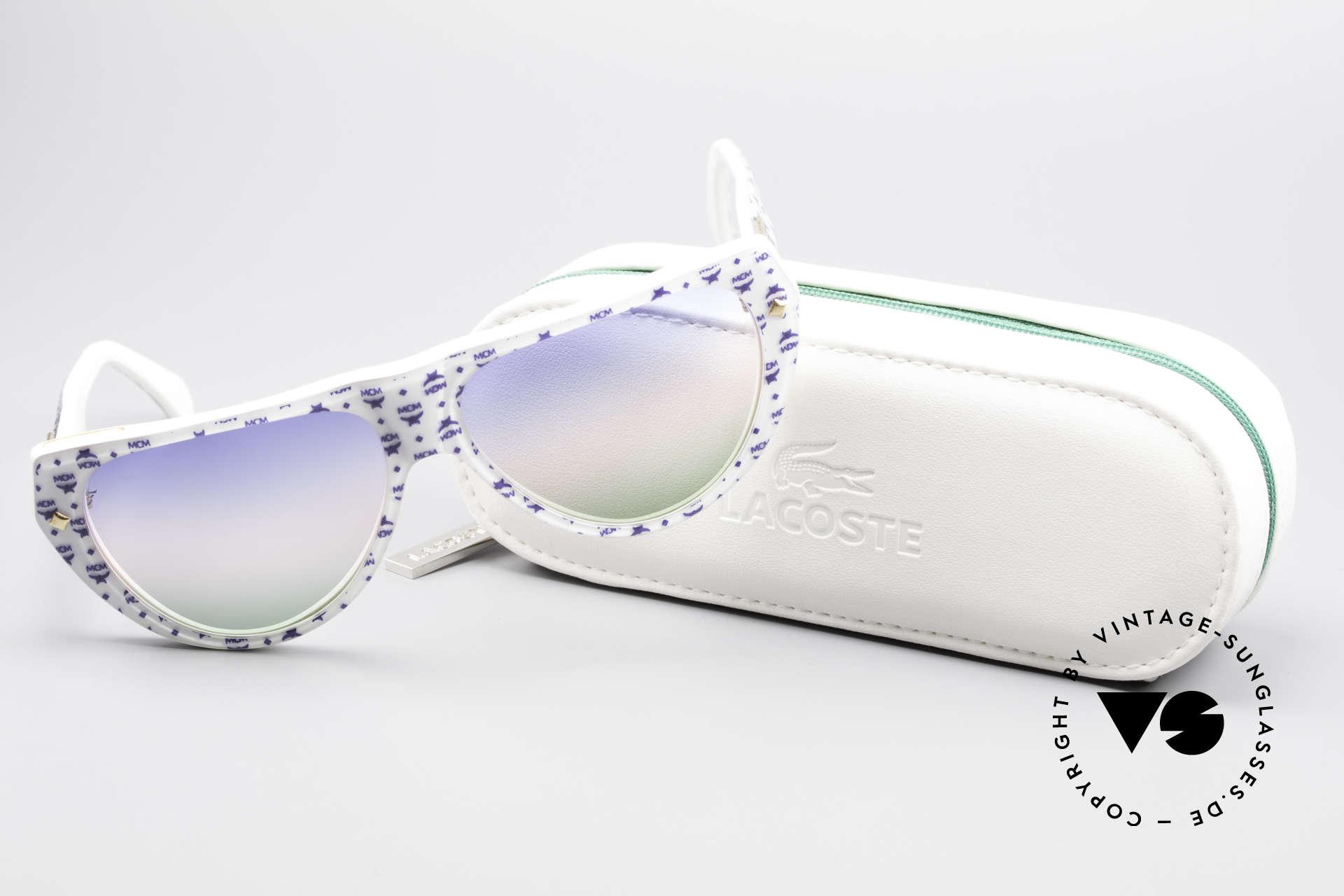 MCM München A1 Hip Hop Designer Sonnenbrille, Größe: small, Passend für Herren und Damen