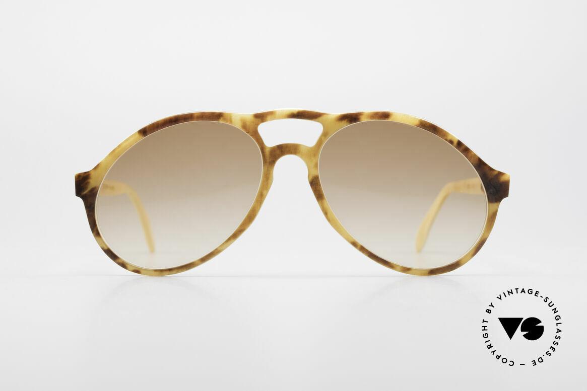 Bugatti 55003 Echt Büffelhorn Sonnenbrille, extrem seltenes Designerstück aus echtem Büffelhorn, Passend für Herren
