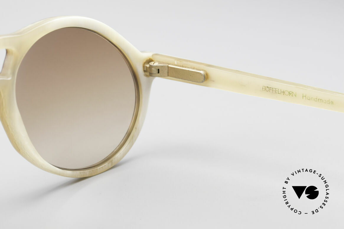 Bugatti 55003 Echt Büffelhorn Sonnenbrille, Größe: medium, Passend für Herren