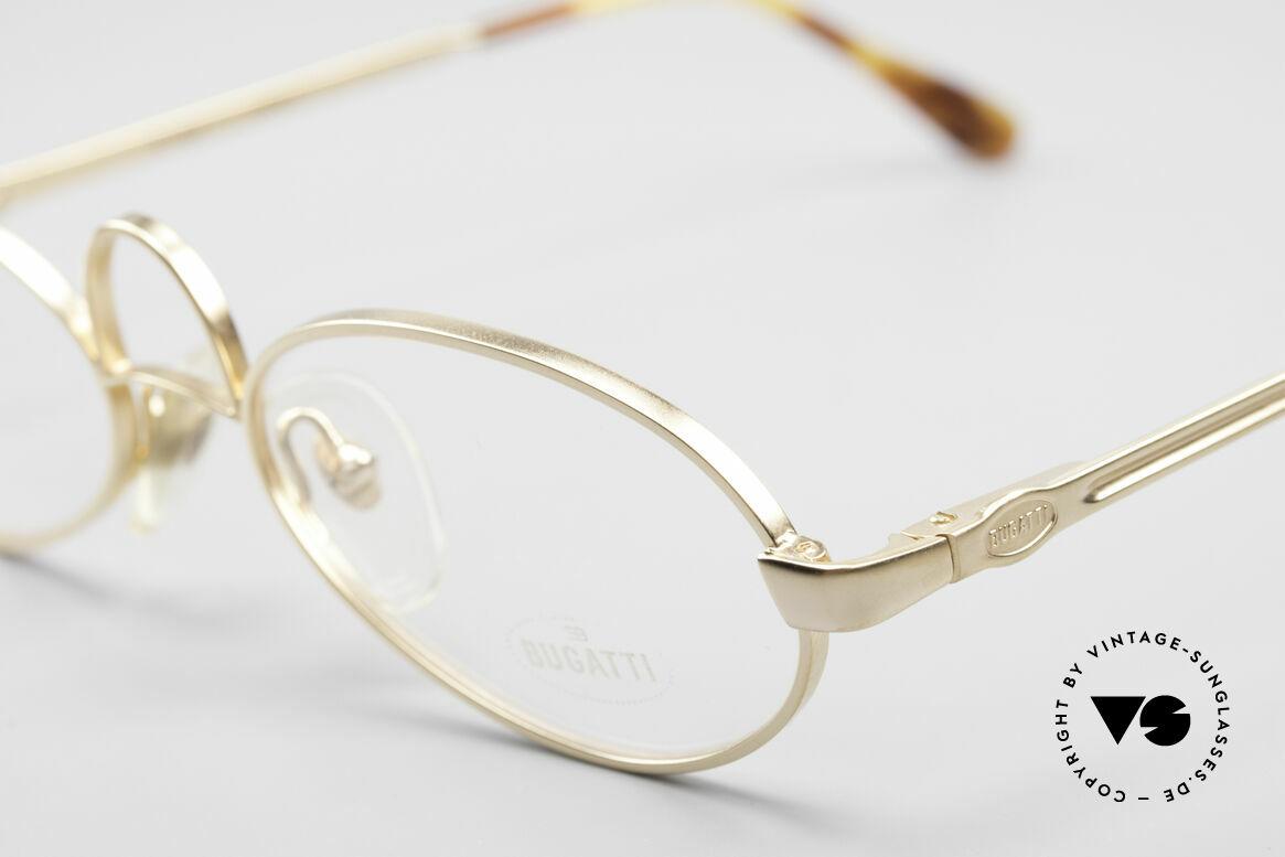 Bugatti 13001 Bugatti Kühlergrill Brille, äußerst komfortabel dank flexiblen Federscharnieren, Passend für Herren und Damen