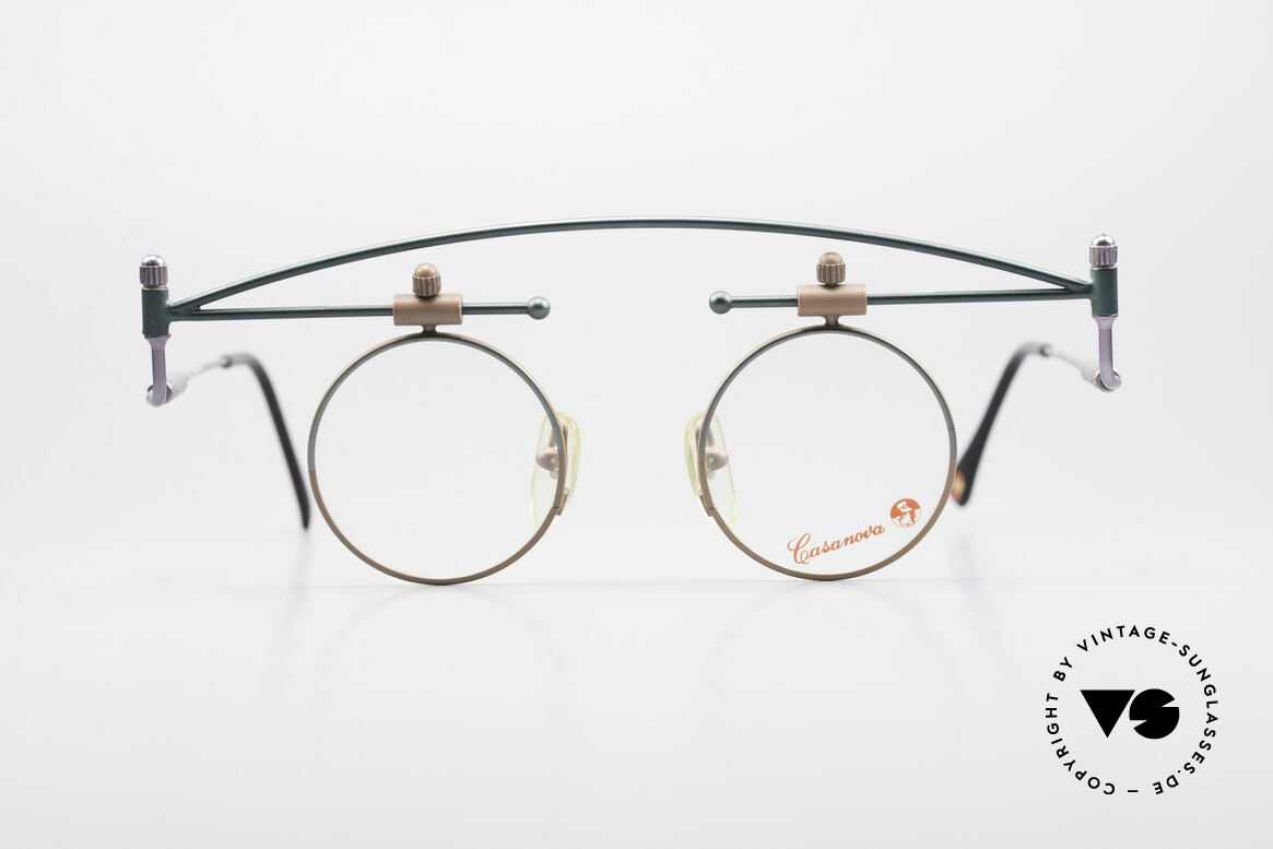 Casanova MTC 10 Limitierte Kunstbrille 90er
