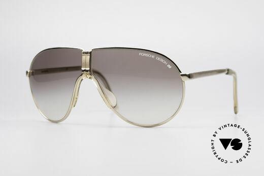 Porsche 5622 80er Luxus Faltsonnenbrille Details
