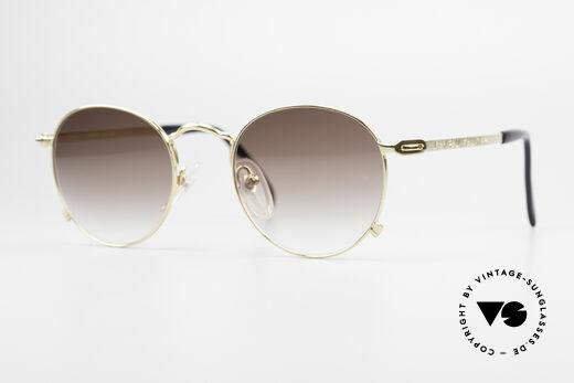 Jean Paul Gaultier 55-1178 Vergoldete Panto Sonnenbrille Details