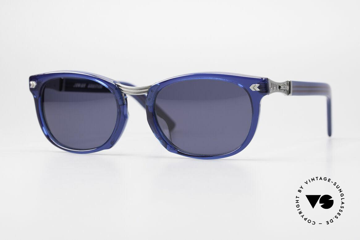 Jean Paul Gaultier 58-1271 Junior Gaultier Sonnenbrille, spektakuläre Jean Paul Gaultier 90er Designer-Brille, Passend für Herren und Damen