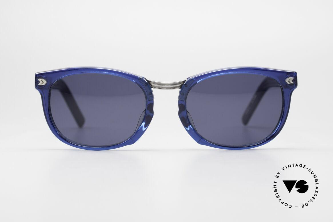 Jean Paul Gaultier 58-1271 Junior Gaultier Sonnenbrille, massive Fassung mit auffälligen Details (Eye-Catcher), Passend für Herren und Damen