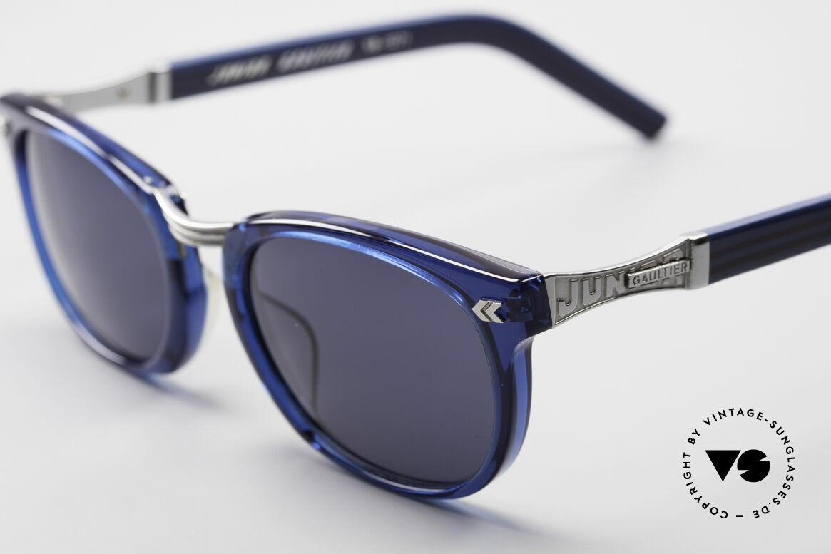 Jean Paul Gaultier 58-1271 Junior Gaultier Sonnenbrille, außergewöhnliche Farbkombination (mal was anderes), Passend für Herren und Damen