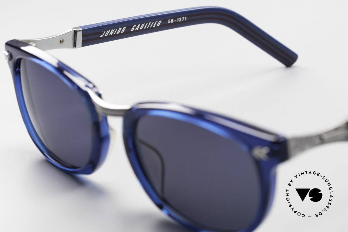 Jean Paul Gaultier 58-1271 Junior Gaultier Sonnenbrille, ungetragen (wie alle unsere vintage Designer-Brillen), Passend für Herren und Damen