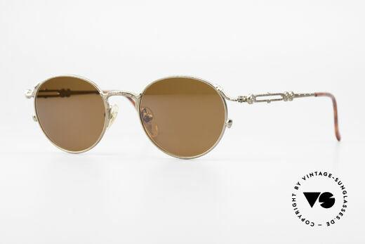 Jean Paul Gaultier 55-4177 Panto Designer Sonnenbrille Details