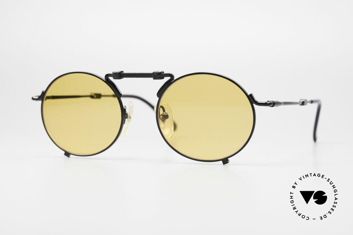 Jean Paul Gaultier 56-9171 90er Vintage FaltSonnenbrille, einzigartige Sonnenbrille von Jean Paul Gaultier, Passend für Herren und Damen