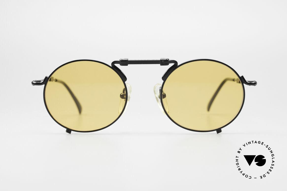Jean Paul Gaultier 56-9171 90er Vintage FaltSonnenbrille, praktisches Faltmodell in Top-Qualität (Rarität), Passend für Herren und Damen