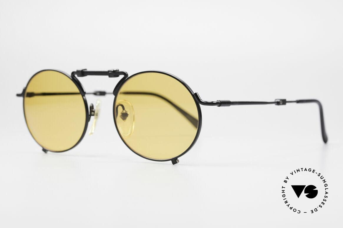 Jean Paul Gaultier 56-9171 90er Vintage FaltSonnenbrille, vielgesuchte vintage J.P.G. Designersonnenbrille, Passend für Herren und Damen