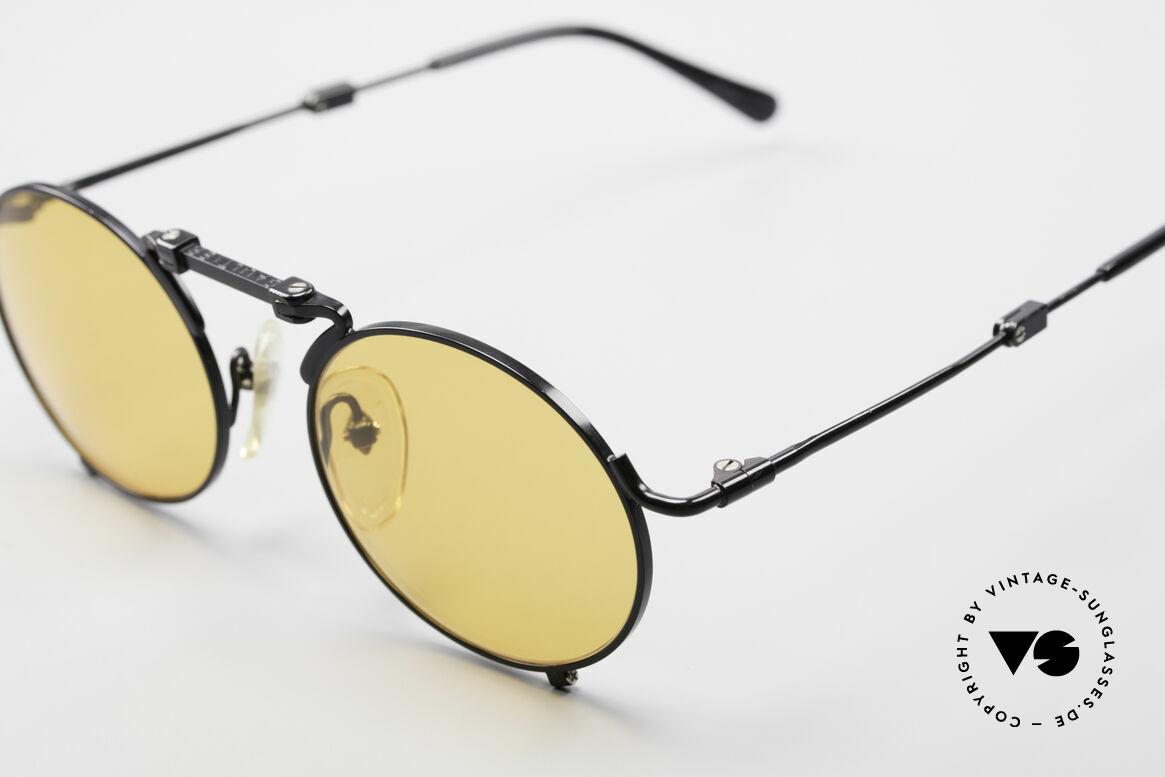 Jean Paul Gaultier 56-9171 90er Vintage FaltSonnenbrille, Spitzen-Qualität mit vielen kleinen Designdetails, Passend für Herren und Damen