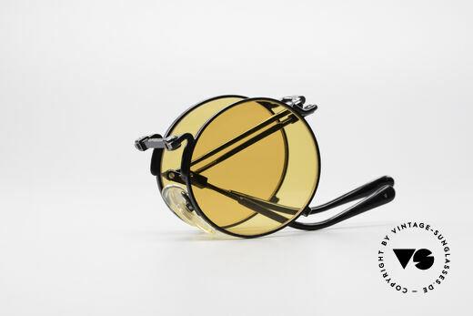 Jean Paul Gaultier 56-9171 90er Vintage FaltSonnenbrille, KEINE RETROmode; ein 25 Jahre altes ORIGINAL!, Passend für Herren und Damen