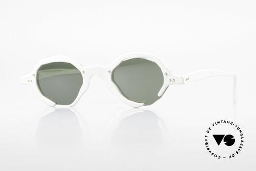 Theo Belgium Eye-Witness AD6 90er Avantgarde Sonnenbrille Details