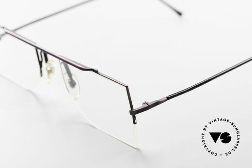 L.A. Eyeworks BURBANK 425 Eckige Vintage Brille 90er