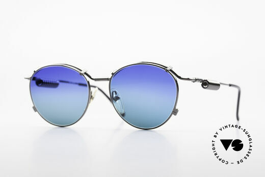 Jean Paul Gaultier 56-9174 Industrial 90er Sonnenbrille Details