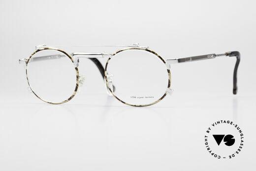 Chai No4 Round Industrial Vintage Brille 90er Details