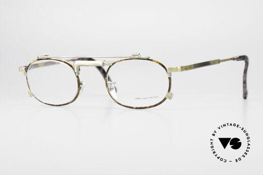 Chai No4 Oval Vintage Brille Industrial 90er Details